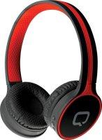 Беспроводные наушники с микрофоном Qumo Accord 3 Black/Red (21946)