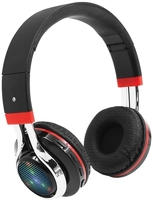 Беспроводные наушники с микрофоном Qumo Freedom Style Black/Red (21780)