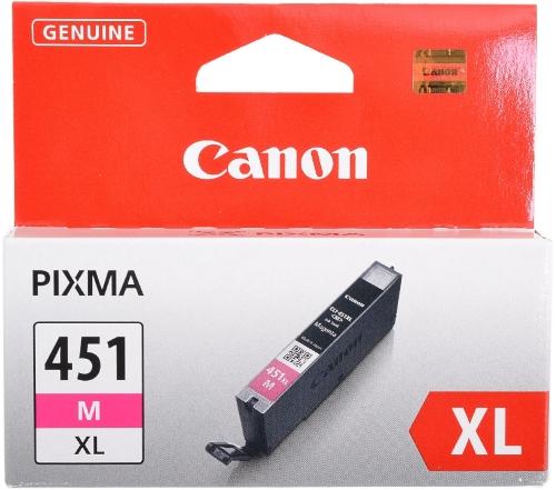 Картридж Canon CLI-451XLM Magenta