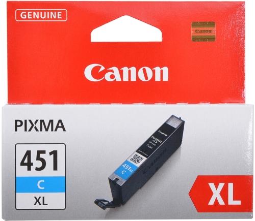 Картридж Canon CLI-451XLC Cyan