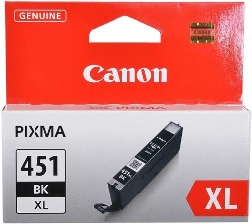 Картридж Canon CLI-451XLBK Black