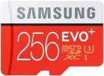 Карта памяти Samsung EVO Plus microSDXC 256Gb Class 10 (MB-MC256DA/RU)