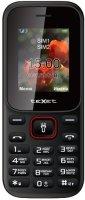 Мобильный телефон teXet TM-128 Black/Red