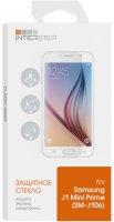 Защитное стекло глянцевое InterStep для Samsung Galaxy J1 mini Prime, черная рамка (IS-TG-SAMJ1MPRC-000B202)