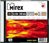 DVD+R диск Mirex Double Side 9.4GB 8x (203896)