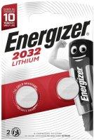 Батарейки Energizer Miniatures Lithium CR2032 FSB, 2 шт.