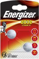Купить Батарейки Energizer, Miniatures Lithium CR2032 FSB, 2 шт.