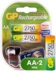 Аккумуляторы GP АA (HR6) 2 шт. (275PROAAHC-CR2)