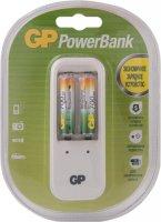 Комплект GP Зарядное устройство PB410 + 2 аккумулятора ААA (LR03) (PB410GS70-CR2)