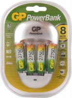 Комплект GP Зарядное устройство PB27 + 4 аккумулятора АА (LR6) (PB27GS275-2CR4)