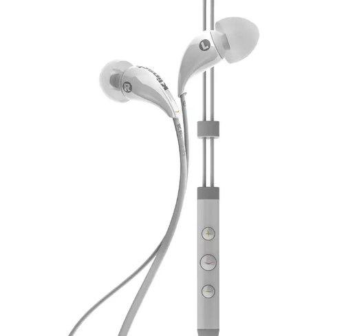 Купить Наушники с микрофоном InterStep, для iOS устройств, Klipsch Image X7i White...