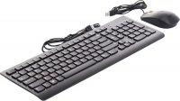 Комплект клавиатура + мышь Lenovo 300 USB Black (GX30M39635)