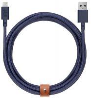 Кабель Native Union Belt Cable, Lightning, 3 м, Blue (BELT-KV-L-MAR-3)