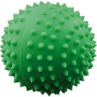 Игрушка для собак Зооник Мяч для массажа №4, 9,5 см, зеленый (С041)