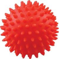 Игрушка для собак Зооник Мяч для массажа №3, 9 см, красный (С040)