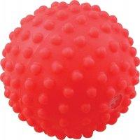 Игрушка для собак Зооник Мяч игольчатый №1, 5,3 см, красный (СИ68)