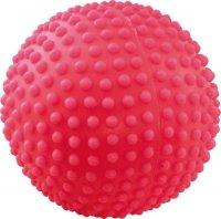 Игрушка для собак Зооник Мяч игольчатый №4, 10, 3 см, красный (СИ70)