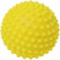 Игрушка для собак Зооник Мяч игольчатый №3, 8,2 см, желтый (СИ72)