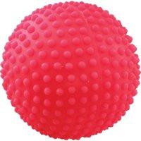 Игрушка для собак Зооник Мяч игольчатый №1, 5,5 см, красный (СИ74)