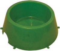 Миска Зооник 0, 65 л, зеленый (1509)