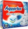Таблетки для посудомоечных машин Aquarius All in 1, 56 шт (8032779810933)