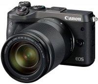 Цифровой фотоаппарат Canon EOS M6 Kit EF-M 18-150 IS STM, Black
