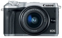 CANON EOS M6 KIT EF-M 15-45 IS STM SILVER (1724C012AA)