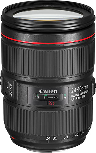 Объектив Canon EF 24-105 f/4L IS II USM (1380C005АА)