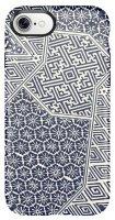 Чехол Speck Presidio Inked для iPhone 7, Shibori Tile Blue Matte/Marine Blue (79990-5757)