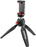 Мини-штатив Manfrotto Mini Tripod with Clamp (MKPIXICLAMP-BK)