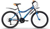 """Горный велосипед Black One Ice 24 (2017), рама 13"""", синий/оранжевый (H000006717)"""