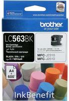 Картридж Brother LC563BK Black фото