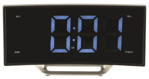 Купить Часы с радио MAX, CR 2906W Black (30027)