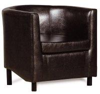 Кресло Смк Дисо 3 042 1х К/З Рекс 320, коричневый (13019511)