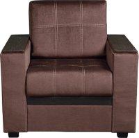 Кресло Смк Версаль 156 1х/370, шоколад (80295081)