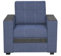 Кресло Смк Версаль 156 1х/358, синий (80295087)