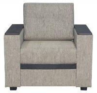 Кресло Смк Версаль 156 1х/356, коричневый (80295085)