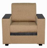 Кресло Смк Версаль 156 1х/355, коричневый (80295084)