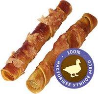 Лакомство для взрослых собак Деревенские лакомства Утиные твистеры сушеные, 90 г (79711816)