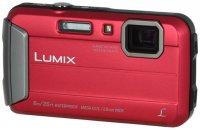 Компактный фотоаппарат Panasonic Lumix DMC-FT30 Red