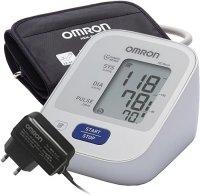 Тонометр Omron M2 BASIC с адаптером + универсальная манжета (HEM-7121-ALRU)