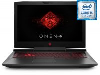 "Игровой ноутбук HP Omen 17-an048ur (Intel Core i5-7300HQ 2.5GHz/17.3""/1920х1080/6Gb/1Tb+128Gb SSD/NVIDIA GeForce GTX 1050/DVD нет/Wi-Fi/Bluetooth/Win 10)"
