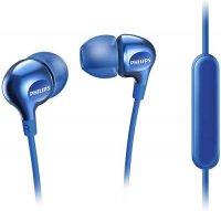 Наушники с микрофоном Philips SHE3705BL/00 Blue
