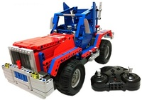 Купить Конструктор на управлении Double Eagle, CaDA Technic Convoy Truck (RC49602)