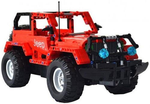 Купить Конструктор на управлении Double Eagle, CaDA Technic Off-road Warrior (RC49601)