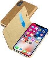 Чехол Cellular Line для Apple iPhone X Brown (BOOKESSIPH8N)
