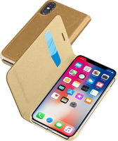Чехол Cellular Line(для Apple iPhone X Brown (BOOKESSIPH8N))