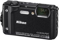 Компактный фотоаппарат Nikon Coolpix W300 Black (VQA070E1)