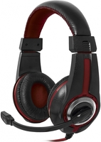 DEFENDER WARHEAD G-185 BLACK/RED (64106)