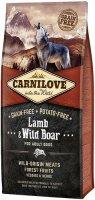 Сухой корм Carnilove беззерновой для взрослых собак всех пород, Ягненок и дикий кабан, 12 кг (150817)